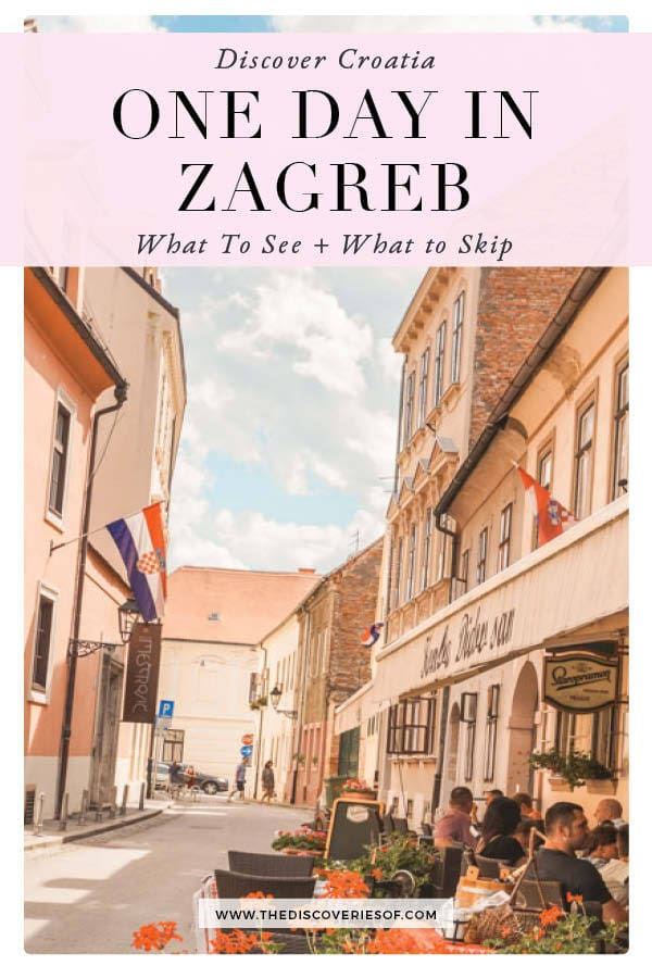 One day in Zagreb