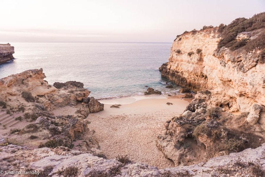 Praia da Albandeira Algarve Beach