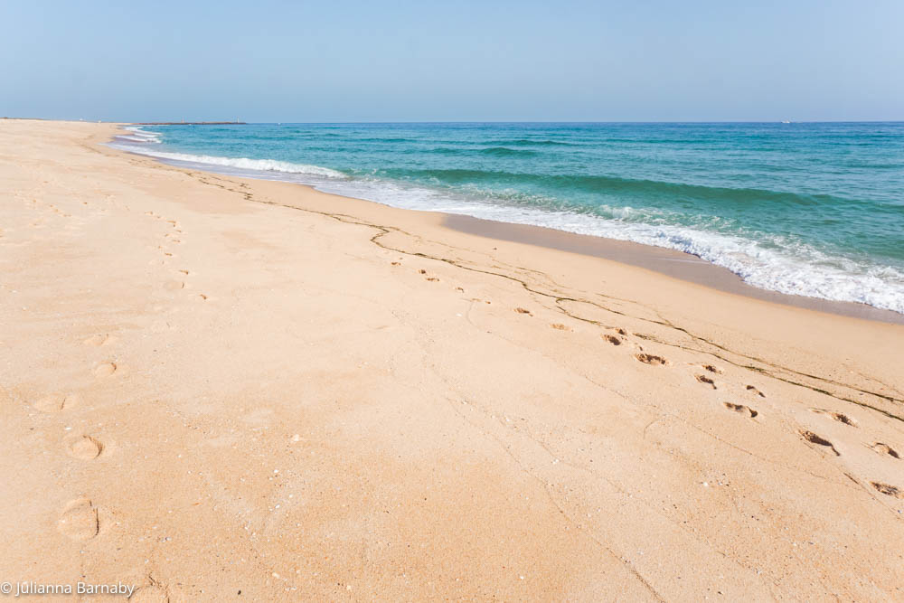 Ilha Deserta Beach