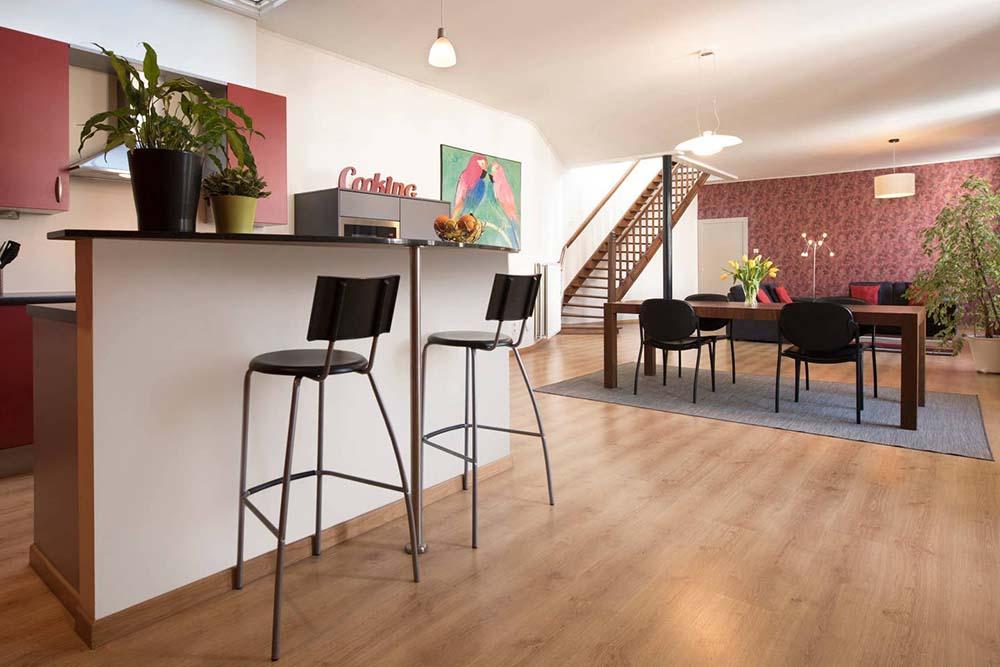Comfortabele en zeer ruime flat
