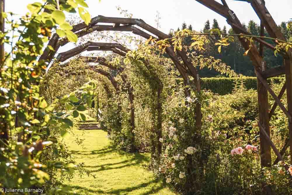 The Rose Garden at Drum Castle