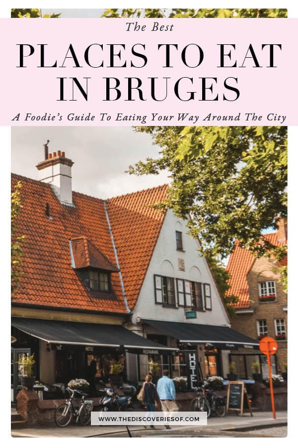 Places to Eat in Bruges