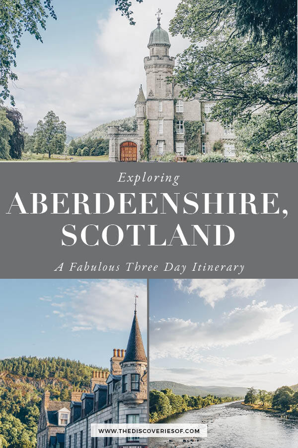 Three Days in Aberdeenshire Scotland