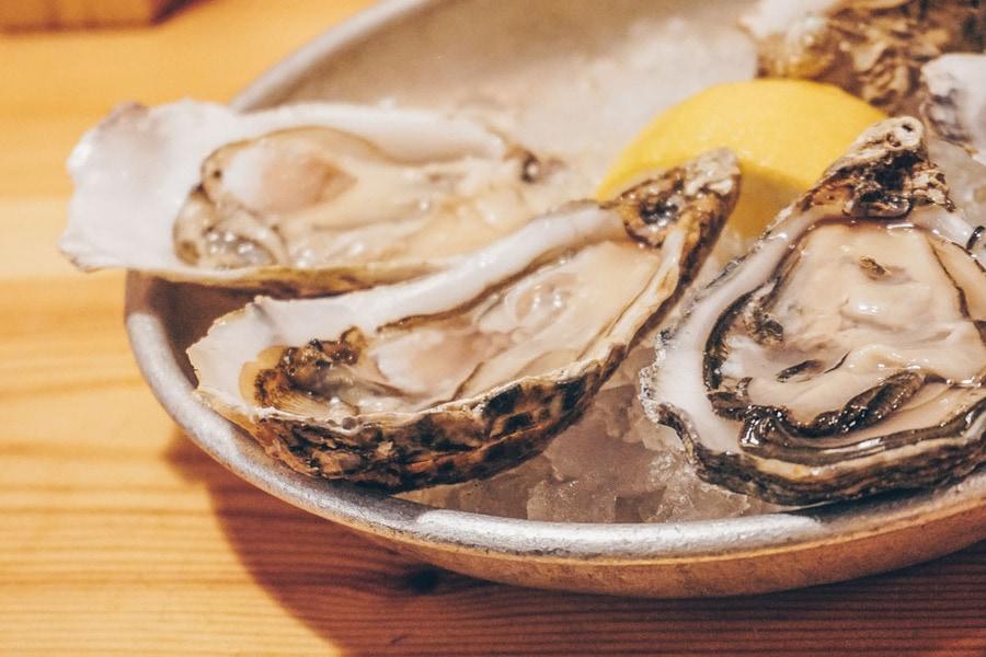 Oysters at El Puertito