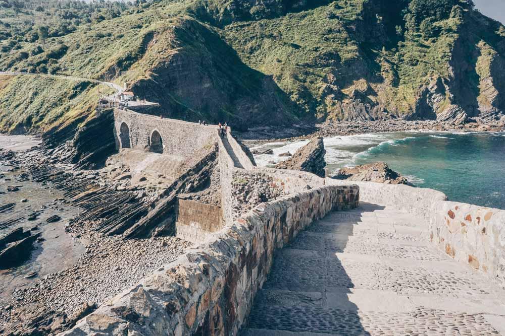 The Stairs of San Juan de Gaztelugatxe