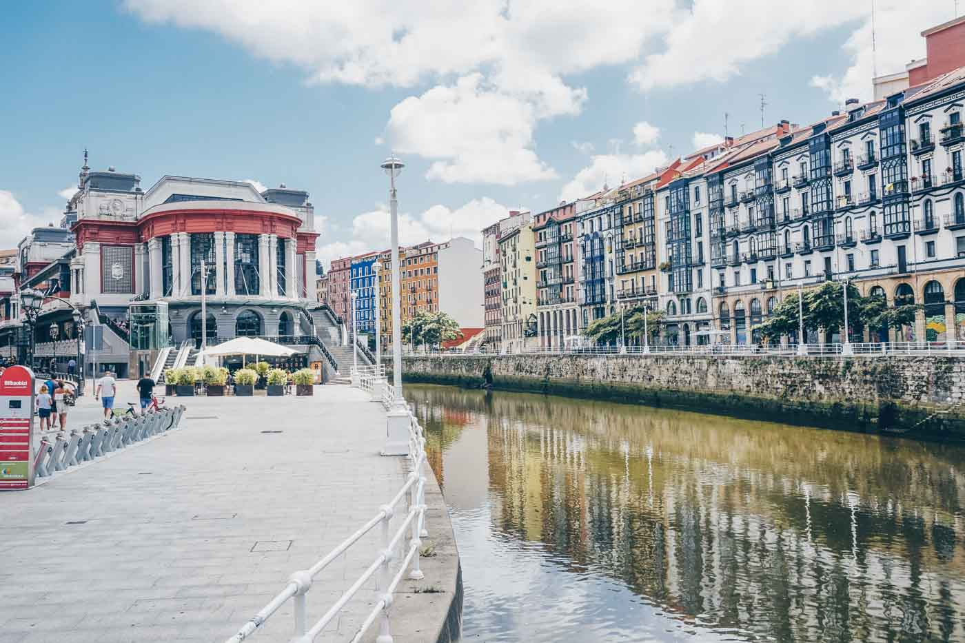 Bilbao and the Mercado de la Ribera