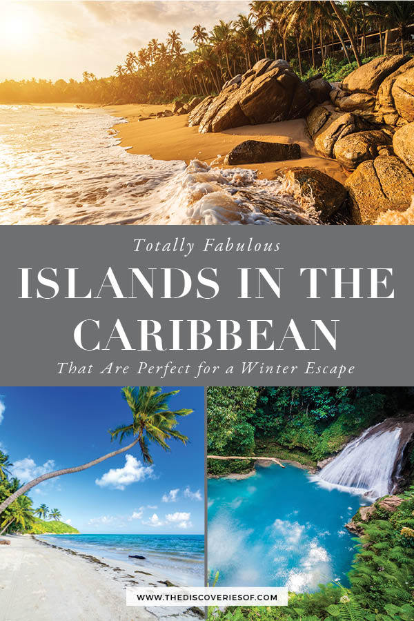 Islands in the caribbean