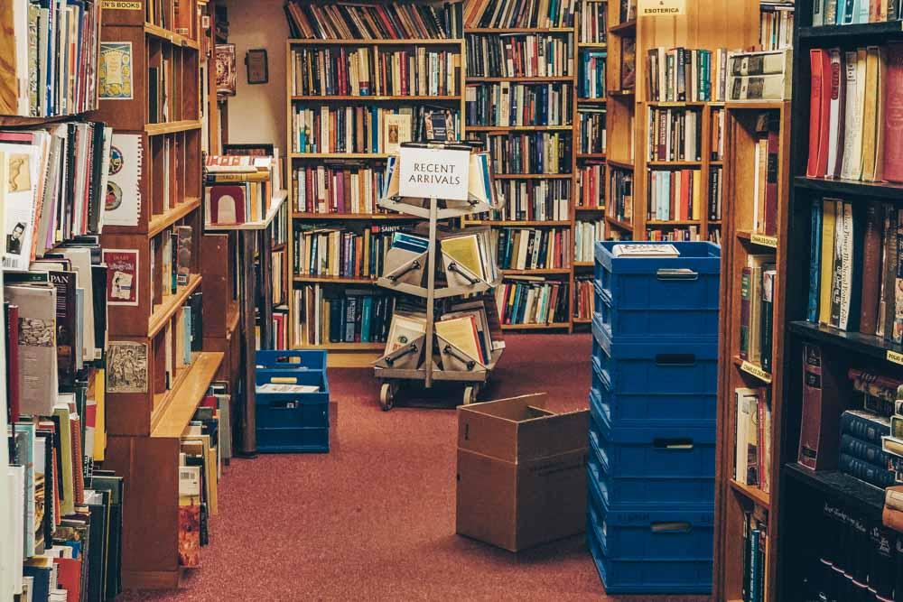 Inside Skoob Books