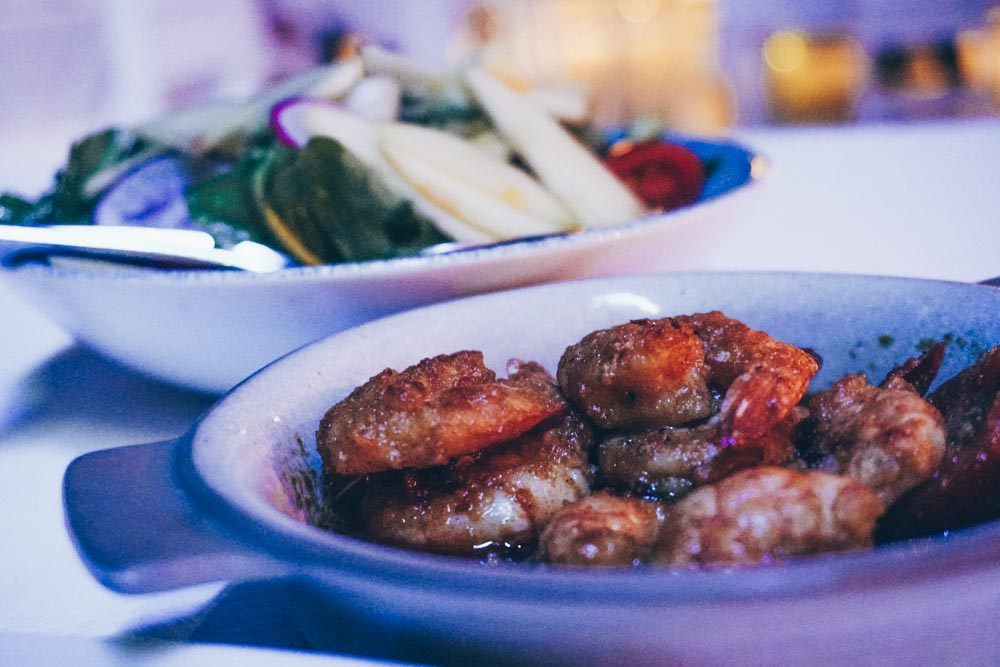 Dinner at Pasha Restaurant
