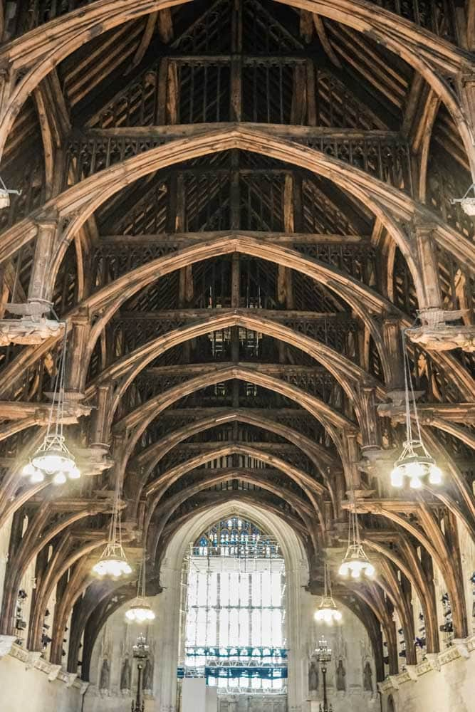The Medieval Ceiling in Westminster Hall