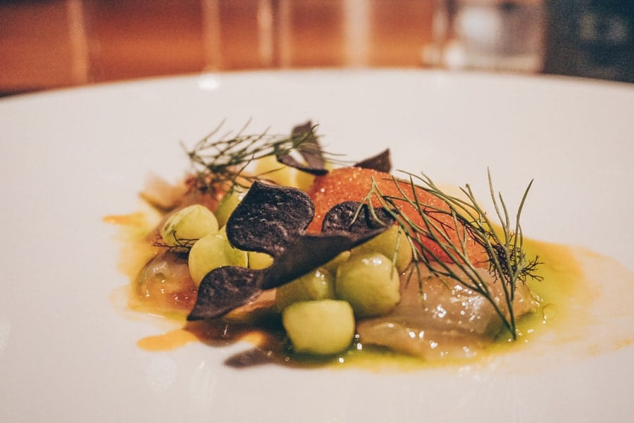 Dinner at Lofoten Food Studios