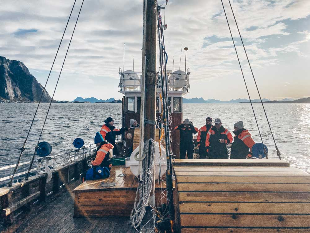 Fishing with the Norwegian Seafood Council