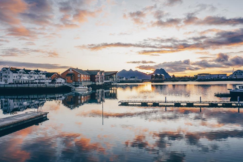 Sunrise in Svolvaer