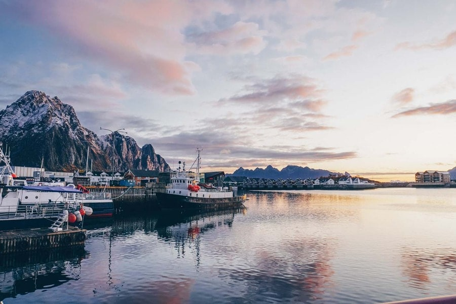 Lofoten Islands at Sunrise
