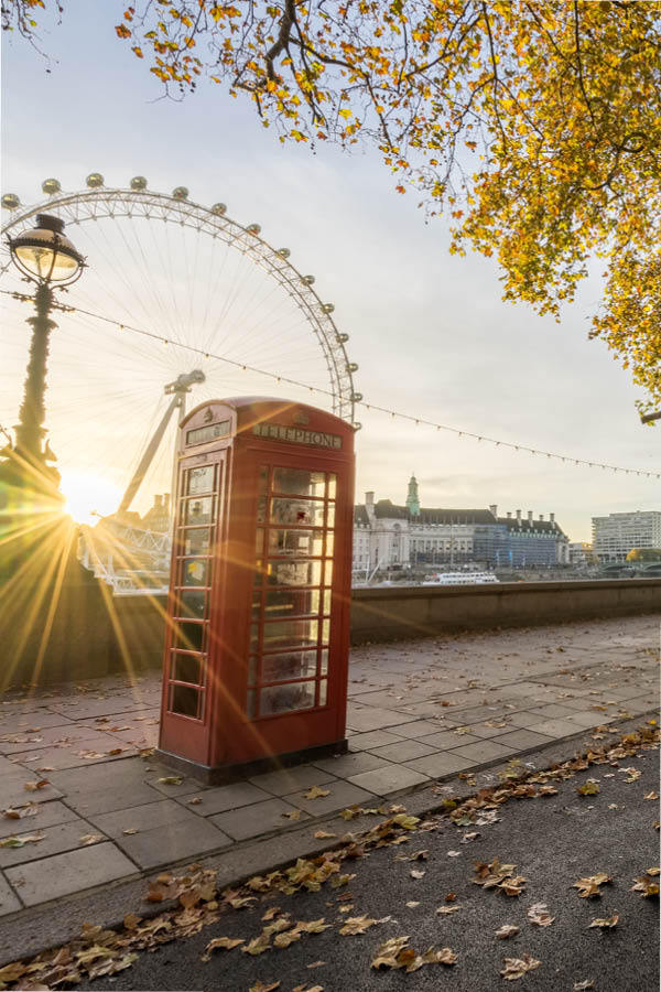 Places to Visit in London - London Eye