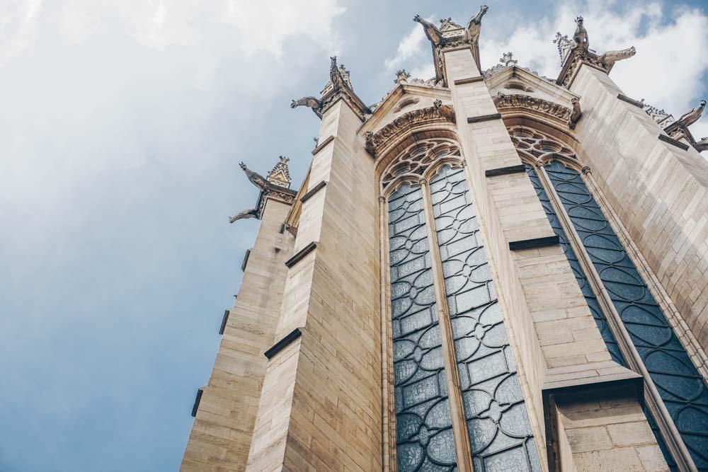 Exterior of Sainte Chapelle
