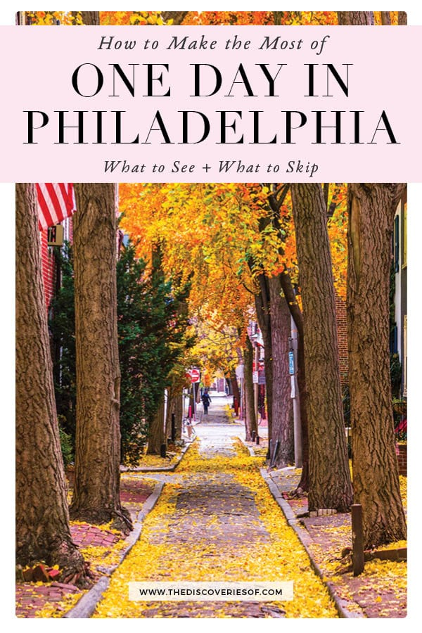 What to See and do in Philadelphia in a day