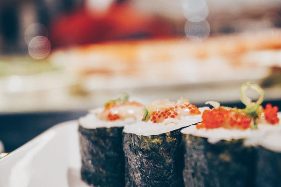 Sushi at Ocean Terrace