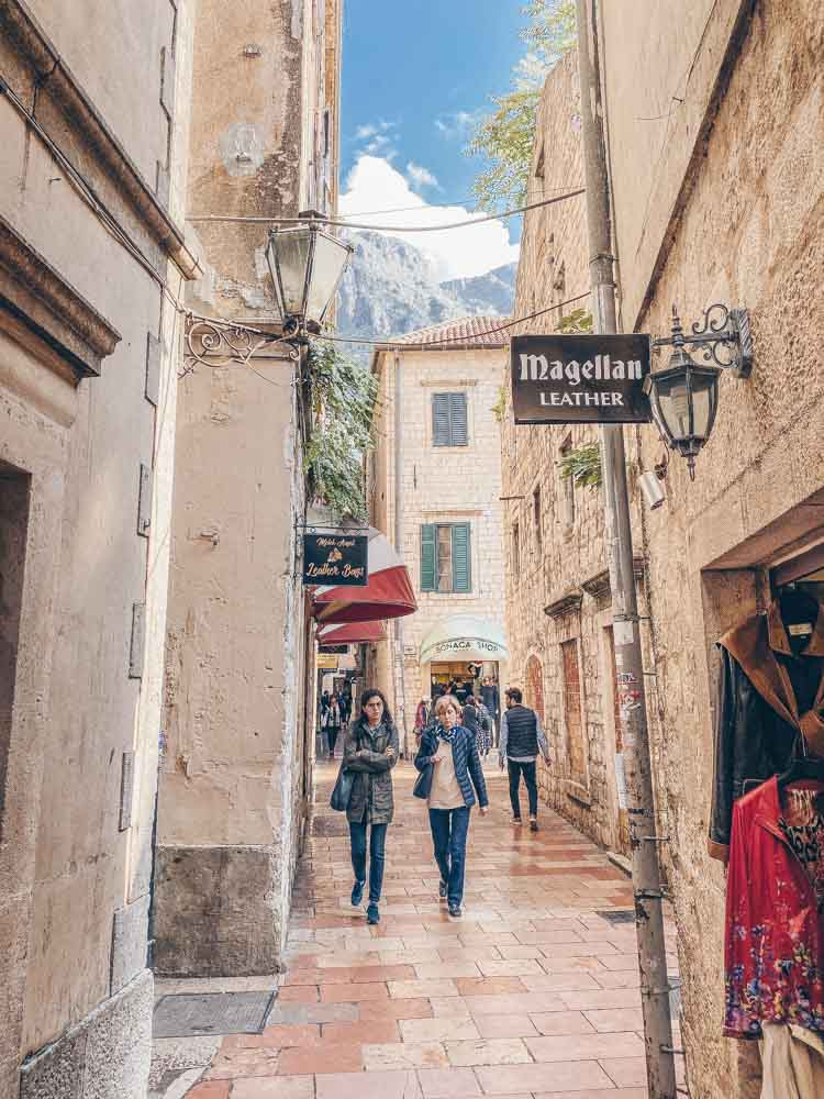 Wandering around Kotor independently