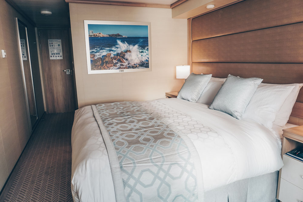 The cabin on the Sky Princess