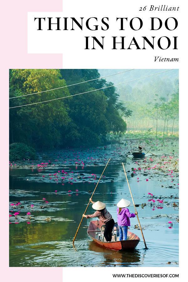 Things to do in Hanoi Vietnam