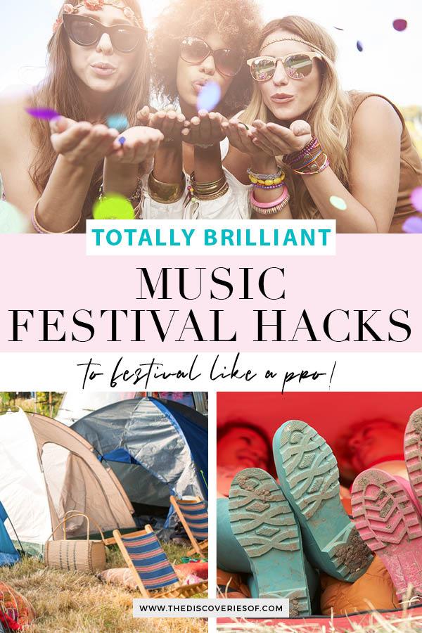 Music Festival Hacks