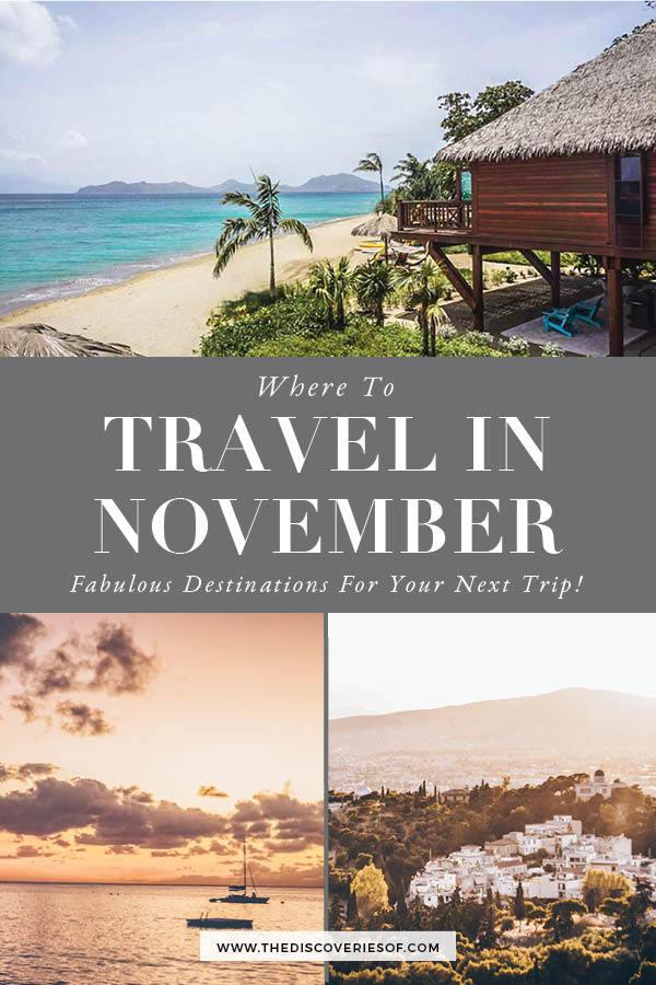 November Travel Hotspots
