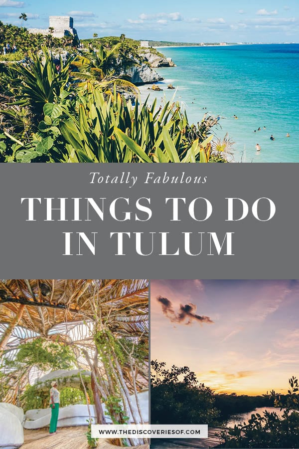 Cool Things to do in Tulum