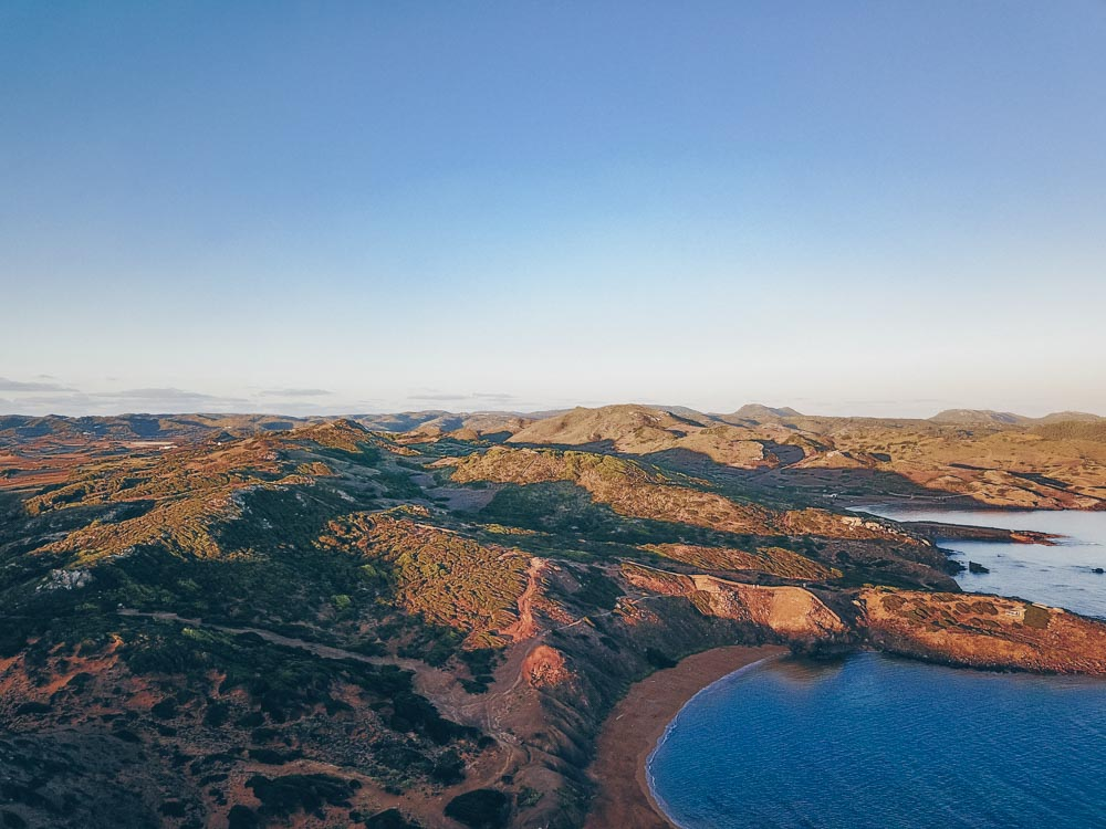 Sunrise over Menorca