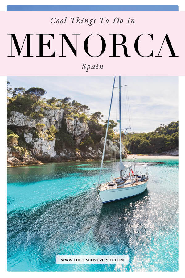 Things to do in Menorca 1