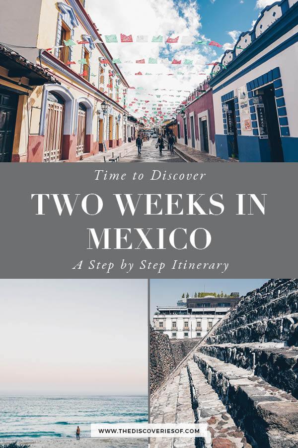 Mexico 2 Week Itinerary