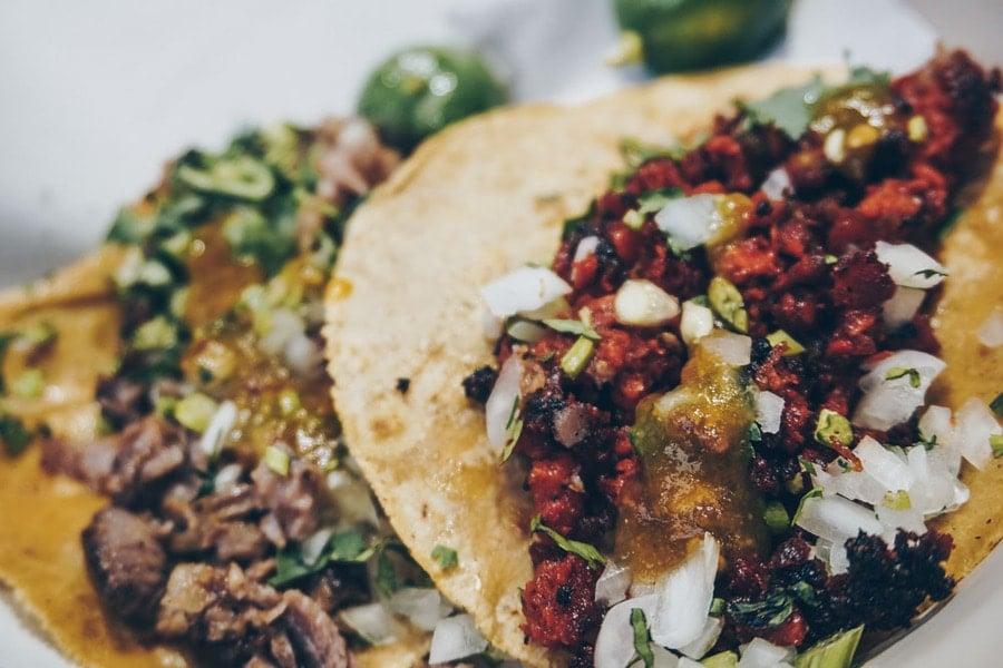 Tacos at Los Cucuyos