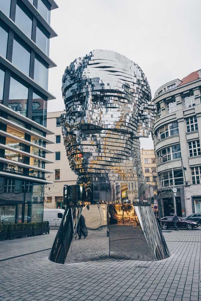 Kafka Head, Prague