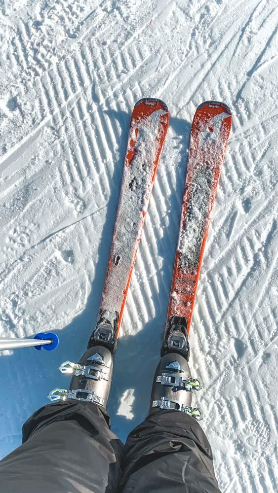 Skiing to Trentino