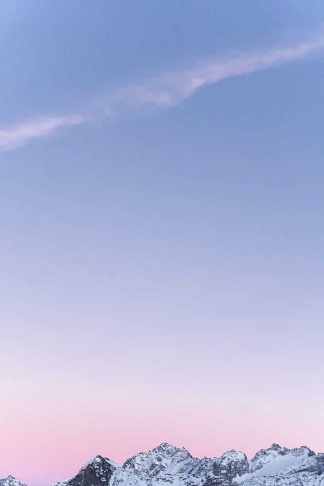 Sunset at Rifugio Capanna Presenna