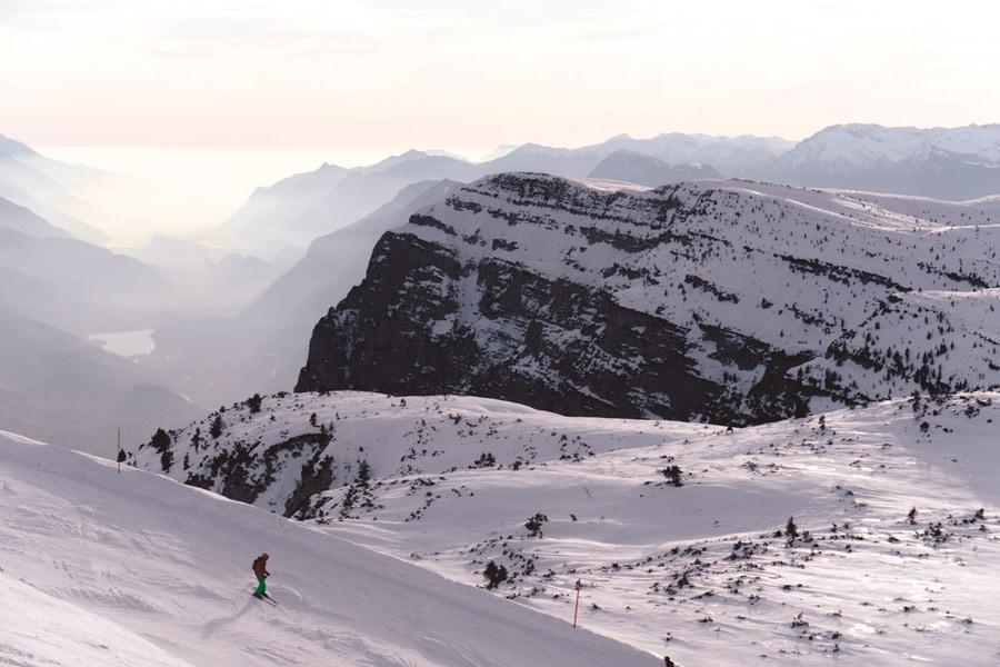 Slopes in Dolomiti Paganella