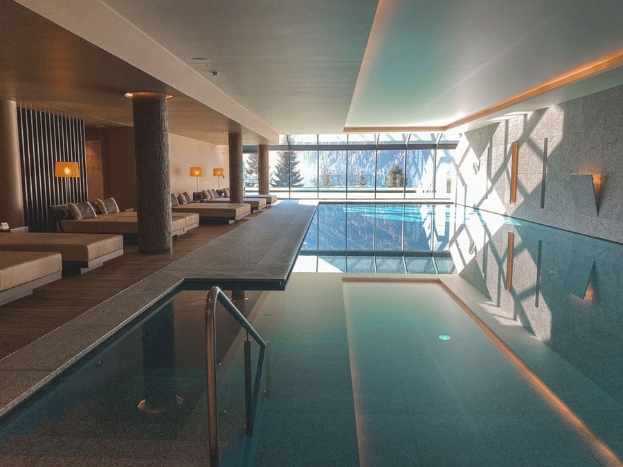 Spa at Lefay Resort Dolomiti