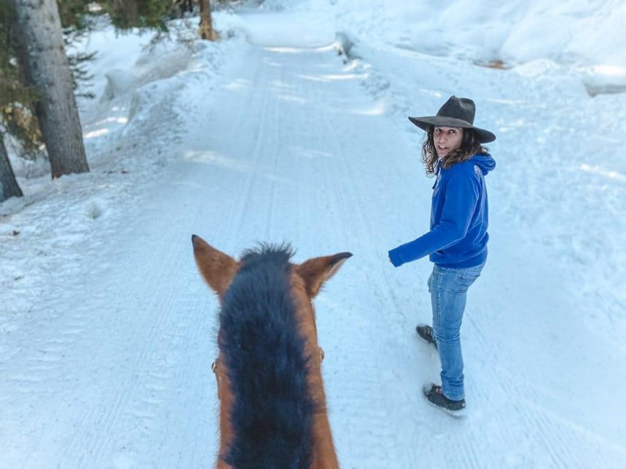 Riding in Trentino