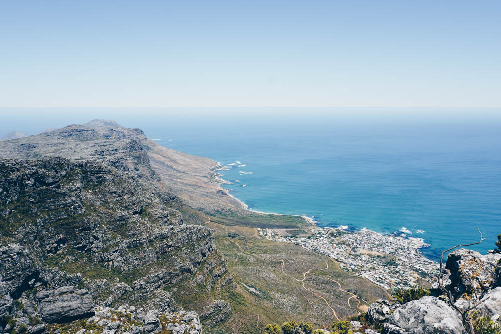 Views from Table Mountain Cape Town