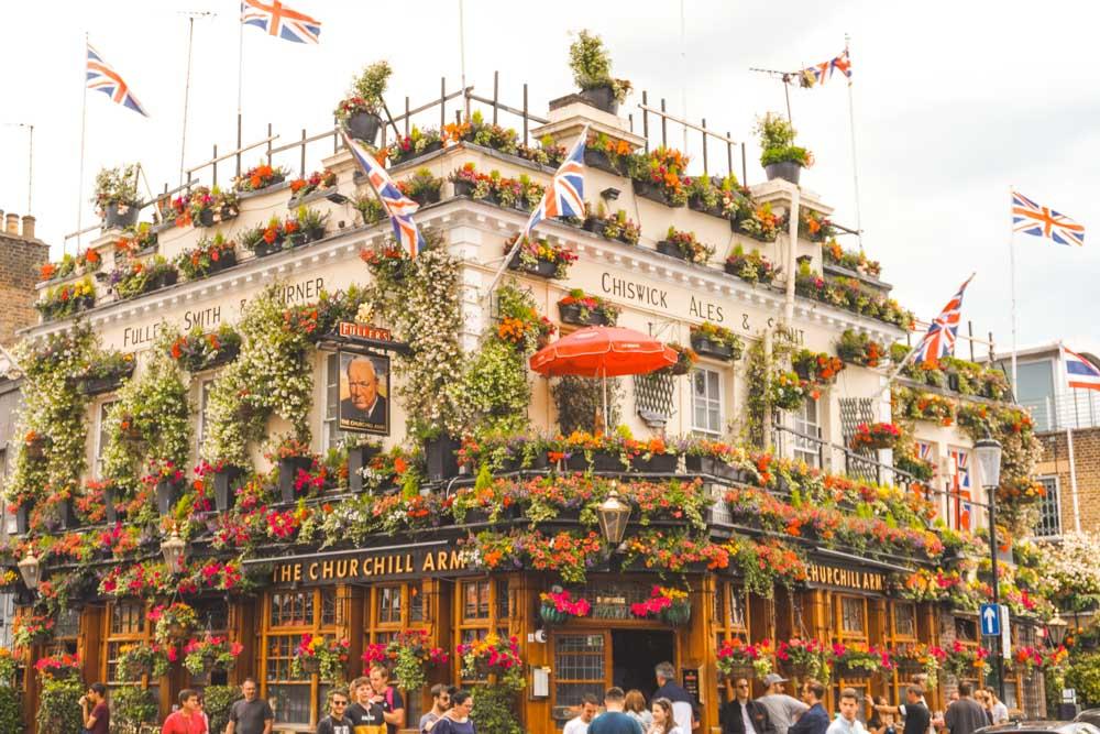 Churchill Arms, Kensington