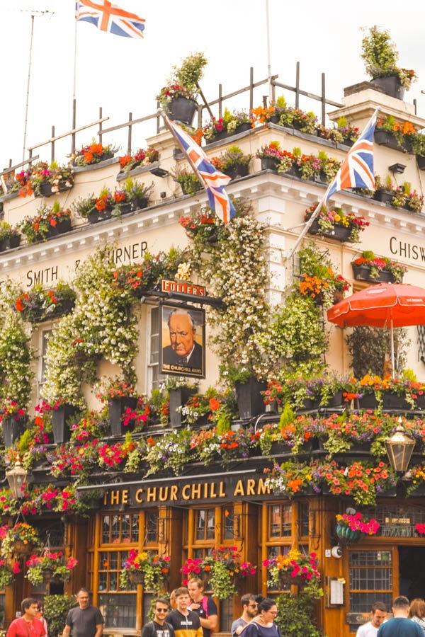 Churchill Arms London Insta