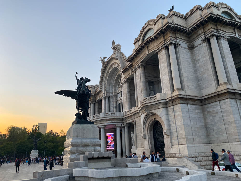 Bella Artes in Mexico City