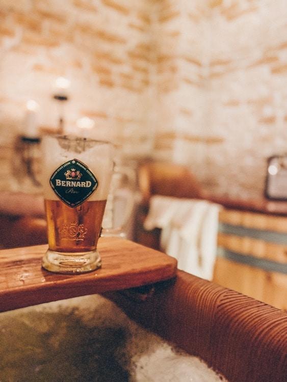 The Beer Spa at Hotel Metamorphosis