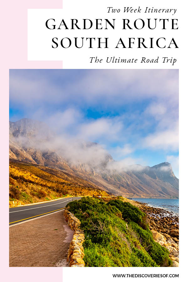 How to Plan Garden Route Itinerary
