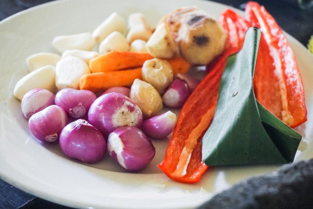 Ingredients for Bumbu Bali