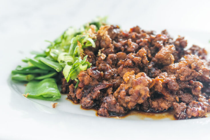 Sweet Chilli Pork with Lime & Coriander Rice Recipe