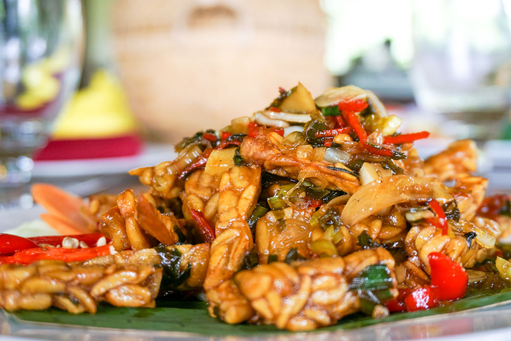 Indonesian Tempeh