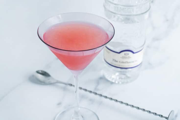 Easy Watermelon & Chilli Martini Cocktail Recipe