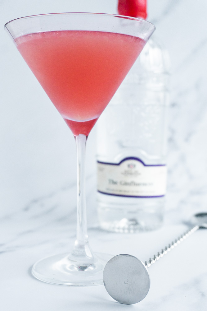 cocktail with the ginfluencer gin