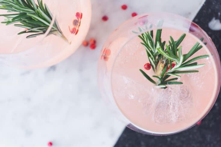 Grapefruit, Rosemary & Gin Cocktail Recipe